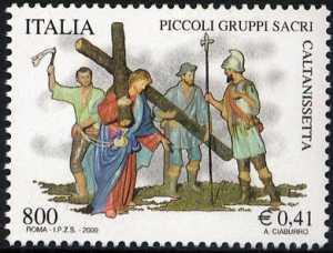 Patrimonio artistico e culturale italiano - I «Piccoli Gruppi Sacri»  di Caltanissetta - Via Crucis