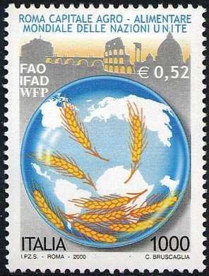«Roma capitale agro-alimentare mondiale delle Nazioni Unite»