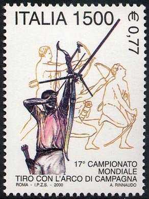 Lo sport italiano - 17° Campionato mondiale di Tiro con l'Arco di campagna