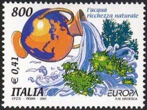 Europa - 46ª serie - L'acqua ricchezza naturale