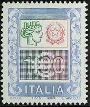 «Alti valori» - «Siracusana» e cifra - 1 €