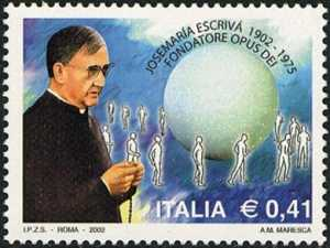 Centenario della nascita di Beato Josemaría Escrivá fondatore dell'Opus Dei