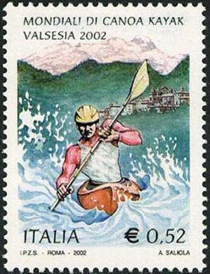 Lo sport italiano - Campionati mondiali di Canoa Kayak in Valsesia