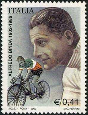 Centenario della nascita di Alfredo Binda - profilo del ciclista
