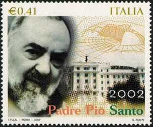 Canonizzazione di Padre Pio da Pietrelcina - ritratto del Santo