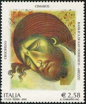 Patrimonio artistico e culturale italiano - 7° Centenario della morte di Cenni di Pepo detto Cimabue - «Crocifisso»