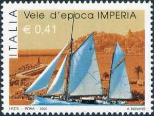 «Raduno delle vele d'epoca» - Imperia - imbarcazioni nel Porto Maurizio