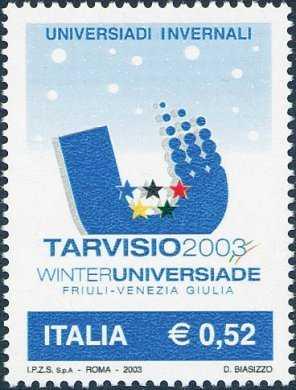 Lo sport italiano - Universiadi invernali di Tarvisio 2003 - logo