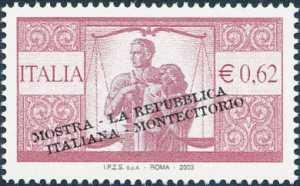 Mostra filatelica «La Repubblica Italiana nei francobolli» a Montecitorio - Roma