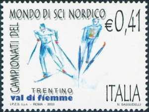 Lo sport italiano - Campionati del mondo di sci nordico - Val di Fiemme