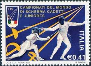 «Lo sport italiano» - Campionati del mondo di scherma cadetti e juniores - Trapani