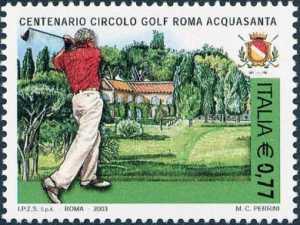 Centenario della fondazione del Circolo del Golf Roma Acquasanta