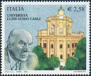 «Scuole ed Università» - 19ª serie - Libera Università Internazionale degli Studi Sociali «Guido Carli» di Roma