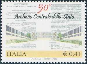Cinquantenario della istituzione dell'Archivio Centrale dello Stato - Roma