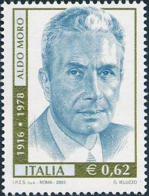25° Anniversario della morte di Aldo Moro, statista ucciso dalle Brigate Rosse - ritratto