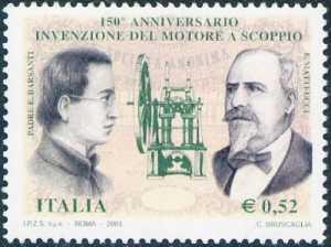 150° Anniversario dell'invenzione del motore a scoppio da parte di Padre Eugenio Barsanti e Felice Matteucci