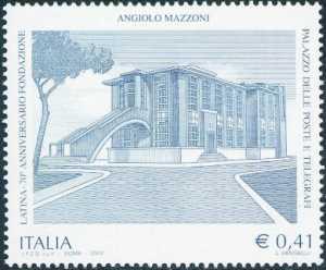 Patrimonio artistico e culturale italiano - Palazzo delle Poste di Latina