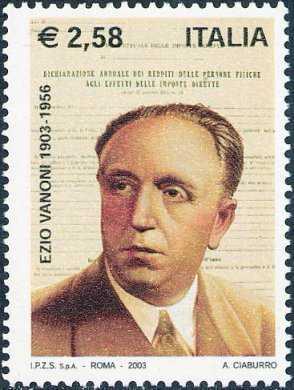 Centenario della nascita di Ezio Vanoni, economista ed uomo politico - ritratto