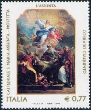 3° Centenario della nascita di Corrado Giaquinto - pittore - «L'Assunta»