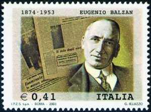 Cinquantenario della morte di Eugenio Balzan - giornalista