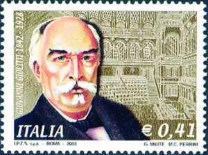 75° Anniversario della morte di Giovanni Giolitti - ritratto dello statista