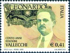 Centenario della pubblicazione della rivista «Leonardo» e dell'attività di Attilio Vallecchi, fondatore dell'omonima casa editrice