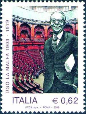 Centenario della nascita di Ugo La Malfa - statista