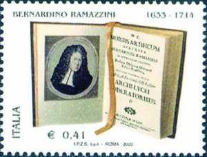 370° Anniversario della nascita di Bernardino Ramazzini - scienziato, fondatore della medicina del lavoro