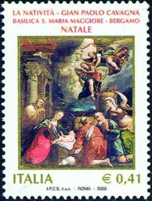 Natale - «Natività» di G. P. Cavagna