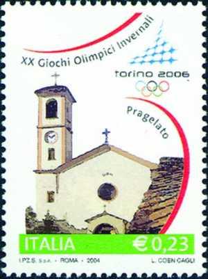 «Torino 2006» - Giochi Olimpici invernali - Chiesa di S. M. Assunta , Pragelato