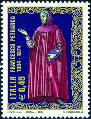 7° Centenario della nascita di Francesco Petrarca - poeta