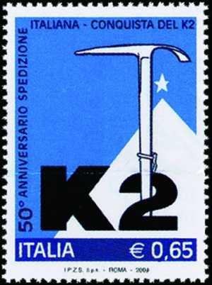 Cinquantenario della conquista del monte K2 da parte della spedizione italiana