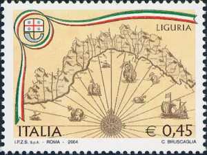 «Regioni d'Italia» - 1ª serie - Liguria