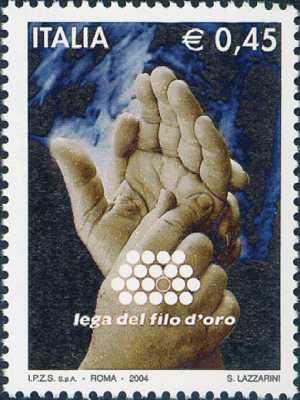 Lega del Filo d'Oro - comunicazione tramite alfabeto Malossi