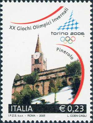 «Torino 2006» - Giochi Olimpici Invernali - Chiesa di San Maurizio - Pinerolo