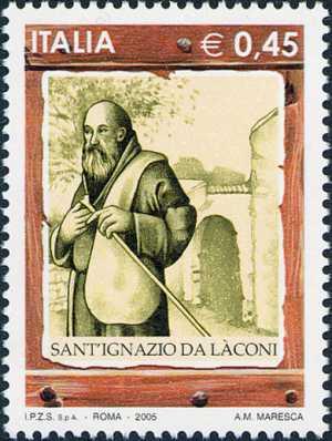 Sant'Ignazio da Làconi - ritratto