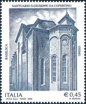 Patrimonio artistico e culturale italiano - Basilica Santuario San Giuseppe da Copertino - Osimo - Abside della Basilica