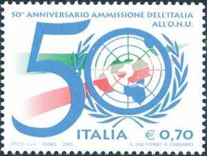 Cinquantenario dell'ammissione dell'Italia all'O.N.U.