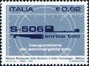 Inaugurazione del sommergibile Enrico Toti presso il Museo Nazionale della Scienza e della Tecnologia  Leonardo da Vinci - Milano