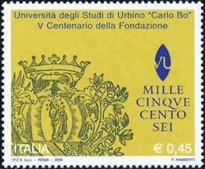 «Scuole ed Università» - Università degli Studi «Carlo Bo» di Urbino  - documento dl 500'
