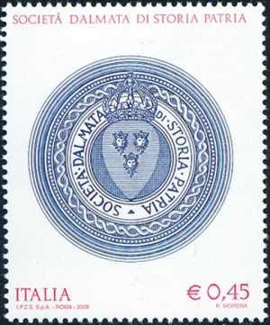Omaggio alla Società Dalmata di Storia Patria - stemma
