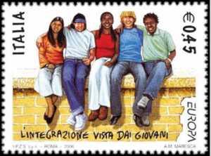 Europa - 51ª serie - L'integrazione vista dai giovani - ragazzi di fronte