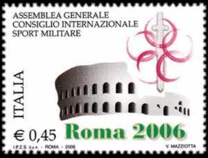 Assemblea Generale del C.I.S.M. ( Consiglio Internazionale dello Sport Militare ) - Roma