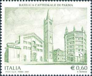 Patrimonio artistico e culturale italiano - Basilica Cattedrale di Parma - la Basilica ed il Battistero
