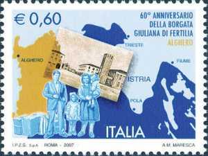 60° Anniversario della Borgata Giuliana di Fertilia - Alghero - famiglia di profughi