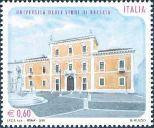 «Scuole ed Università» - Università degli Studi di Brescia  - facciata del Palazzo Martinengo Palatini