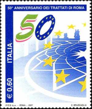 Cinquantenario della firma dei Trattati di Roma - c. 60