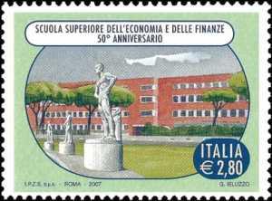 Cinquantenario della istituzione della Scuola Superiore dell'Economia e delle Finanze - sede a Roma