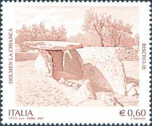 Patrimonio artistico e culturale italiano - Dolmen la Chianca ( Dolmen di Bisceglie )