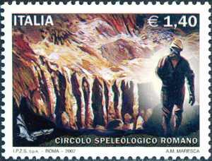 Omaggio al Circolo Speleologico Romano